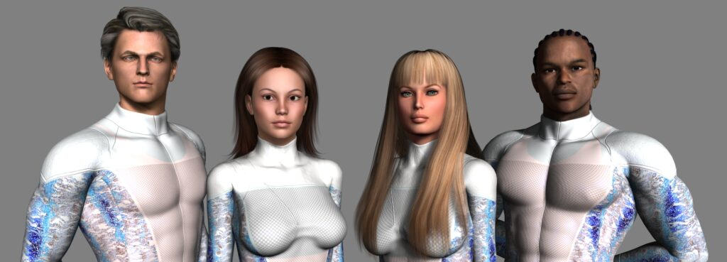 Left to Right: Event Horizon, Duplicate, White Mage, Wind Shear
